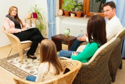 Family therapy is offered at most clinics.