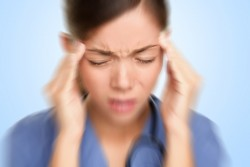 Buprenorphine can cause headaches and blurred vision.
